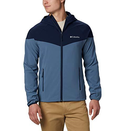 Columbia Heather Canyon, Chaqueta Softshell, Hombre, Azul (Mountain, Collegiate Navy), XL
