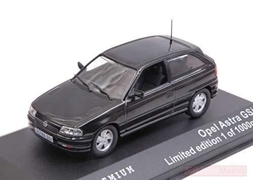 NEW Triple 9 T9P-10019 Opel Astra GSi 1992 Black 1:43 MODELLINO Die Cast Model Compatible con