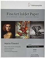 Hahnemuhle Photo Rag, Matte 100% Rag, Smooth, Extra Bright White Inkjet Paper, 310 gsm, 22cm x 28cm, 25 Sheets
