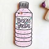 para iPhone 5 5s 5C SE 6 6s Plus 3D Funda de Silicona Suave Cubierta Posterior del teléfono Funda de Piel para iPhone 7 7Plus 8 8Plus X XS XR XS MAX Funda 7 Plus y 8 Plus Pink Boys Tears