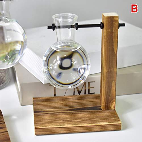 Giytoo Bureaulamp met houten schaal voor op kantoor