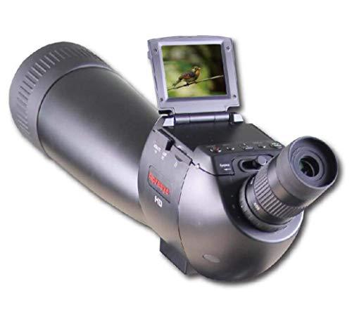 AZWE Observación de Aves Monocular, Telescopio Digital Hd1200W Pixel Telescopio para Exteriores con Trípode Grande