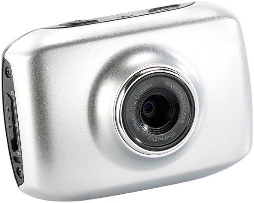 Somikon Digicam 3in1 Action Cam DV 500 mit 720p Auflosung 5 cm Touchscreen Unterwasserkameras