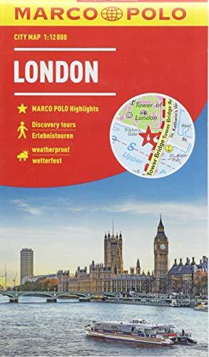 MARCO POLO Cityplan London 1:12 000 (MARCO POLO Citypläne)