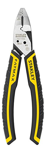 Stanley FatMax Alicate de corte diagonal FATMAX 6 en 1 FMHT0-75468, negro