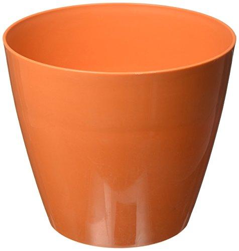 Robert Allen Home & Garden Pim01274 Charlevoix Pot de Fleurs, 20,3 cm, Tango