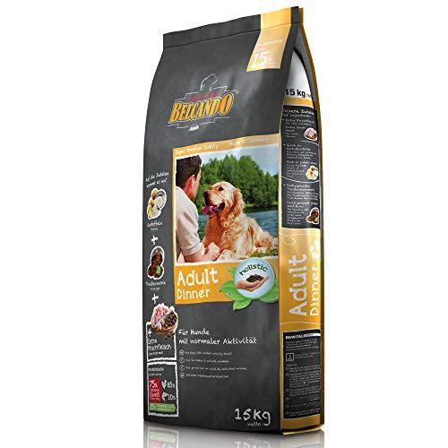 Belcando Adult Dinner [15 kg] Hundefutter | Trockenfutter für Hunde | Alleinfuttermittel für ausgewachsene Hunde Aller Rassen ab 1 Jahr