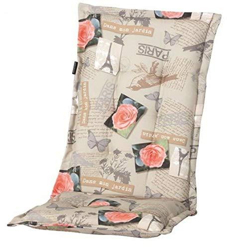 Madison Gartenmöbel Hochlehner A 040 Sessel Auflagen Polster Kissen 8 cm Natur