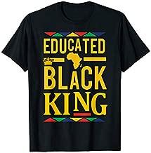 Dashiki Educated Black KING Shirt - African DNA Pride Shirt T-Shirt