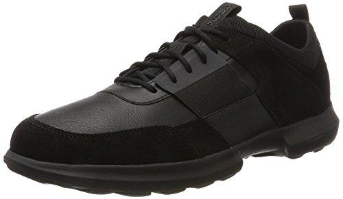 Geox Herren U Traccia B Sneaker, Schwarz (Black), 43 EU