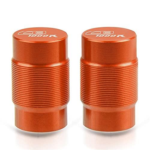 Tapón de llenado de aceite para Honda CB1000R CB 1000R 2008-2020 motocicleta CNC accesorios neumáticos válvulas tapas herméticas (color: naranja)