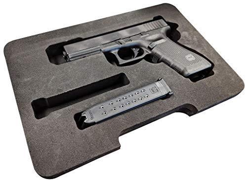 Cedar Mill Fine Firearms Custom EVA Compatible with Glock Foam – Fits G22 .40 Gen1,2,3,4,5 G19 9mm G23 G26 G27 G34 G35 G31 357 G37 .45 G32 G33 G20 10mm G21 G29 G30
