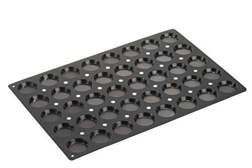 Lurch Silikonbackform, Silikon, schwarz, 60 x 40 cm