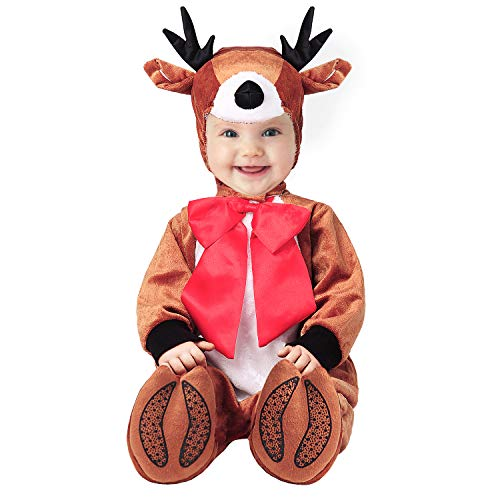 Hug Me Toddler Baby Infant Reindeer Christmas Dress up Outfit Costume, Brown, 100CM (19-24 Months)