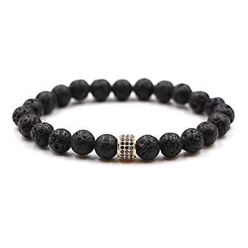 WHFDRHSZ armband armband voor mannen en vrouwen 4 kleur Pave Cz ronde buis bedeltje populaire klassieke armband sieraden