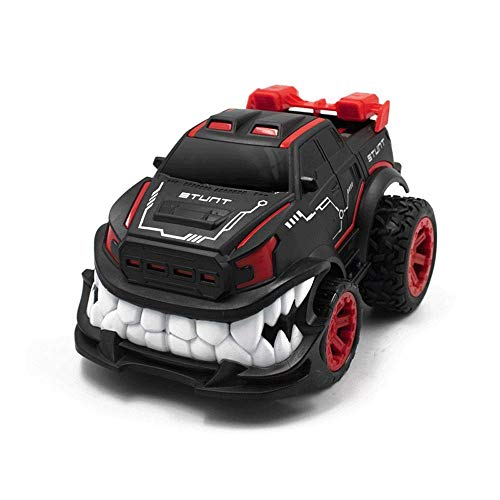 Children's Remote Control Car Toy Boy Upright Rotating Stunt Car Cool Monster Truck Off-road Vehicle Wireless Charging, Hobby RC Vehicle, The Best Gift For Kids