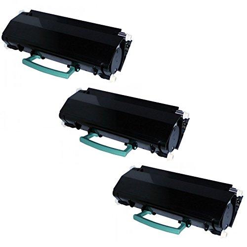 3 Toner kompatibel für Lexmark X264DN, X363DN, X364DN, X364DW   X264A11G X264H11G X264H21G