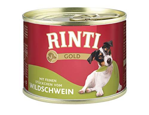 Rinti Gold Wildschwein, 12er Pack (12 x 185 g)