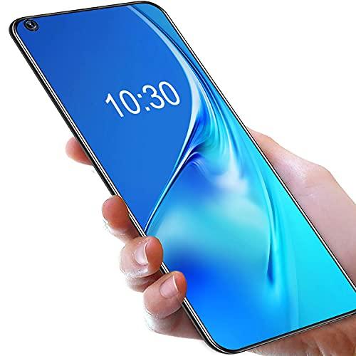 Móviles y Smartphones Libres,OUKITEL C21 Android 10 Teléfono Móvil, 4G Dual SIM Móviles, 4GB RAM+64GB ROM,Cámara 20MP Frontal+16MP Rear, 4000 mAh Batería Smartphone Fingerprint Face ID Azul