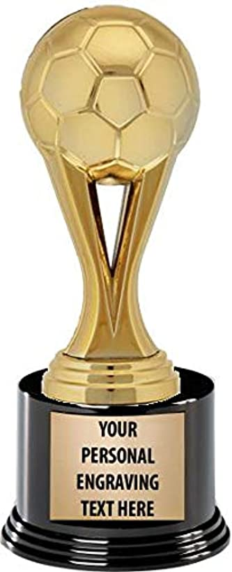Crown Awards Soccer Trophies with Custom Engraving, 7.25