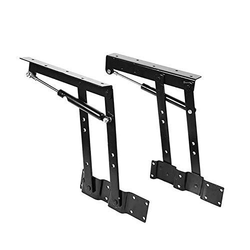 GNY Bisagra Mesa elevable Mecanismo de Mesa Plegable de elevación, Mecanismo de elevación de Mesa de café, elevación de Primavera Hardware para Mesa para Escritorio de pie bisagra