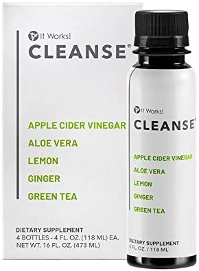 IT WORKS Now free shipping CLEANSETM bottles 4 Great interest -
