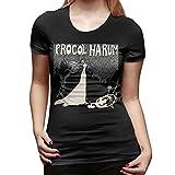 99 Procol Harum Shirt Women Basic Round Neck Tops Cotton T Shirts Camisetas y Tops(X-Large)