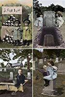 NoMonet Boneyard Brats Postcard Set - Macabre Graveyard Humor [並行輸入品]