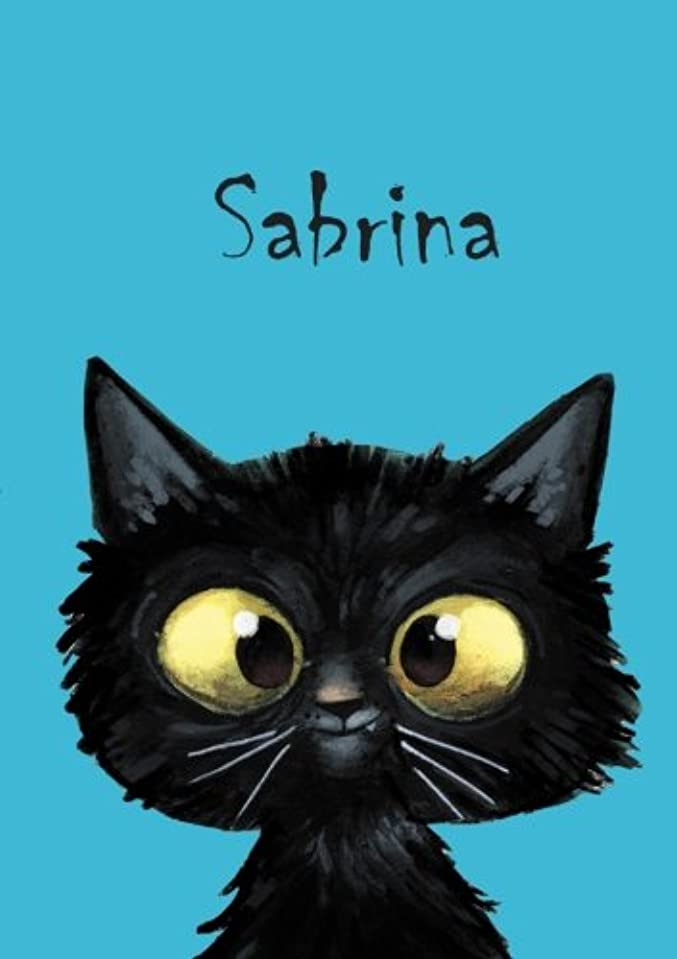 一握り死大きいSabrina: Sabrina - Katzen - Malbuch / Notizbuch / Tagebuch: A5 - blanko