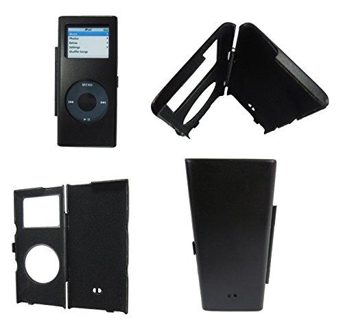 Ipod Nano 2 Metal Case - Samsonite Ultra Slim Fit (Black) Case Cover w  No-Stratch Padded Interior for Apple Ipod Nano 2nd Generation