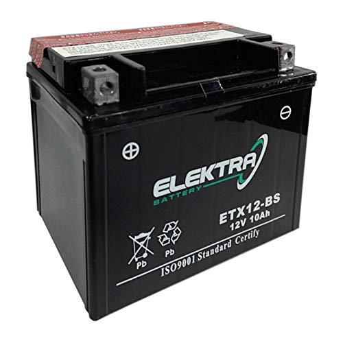 Batteria sigillata Elektra ETX12-BS (YTX12-BS) 12 V 10 Ah 180 CCA