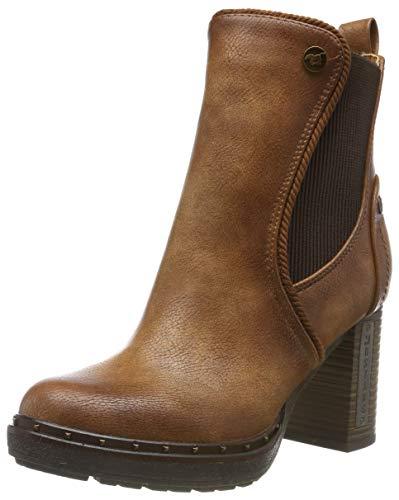 MUSTANG Damen 1336-501-307 Chelsea Boots, Braun (Cognac 307), 39 EU