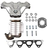 MOSTPLUS Manifold Catalytic Converter w/Gasket Compatible for Honda Civic 1996 1997 1998 1999 2000 1.6L 674439