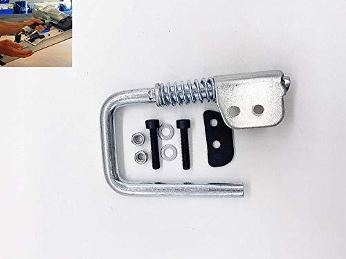 Gadgetool M745H2 Spring Loaded Rafter Hook/Retractable Nail Gun Hanger for Hitachi NR83A & Max SN890CH2