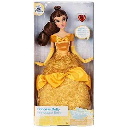 e1e2b2f5c0 Amazon.com: Disney Store Belle Classic Doll with Ring - Beauty and the  Beast - 11 1/2'' 2018 Version: Toys & Games