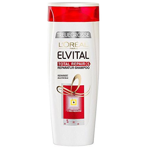 L'Oréal Paris Elvital Reparatur and Fülle Shampoo, 6er Pack (6 x 400 ml)