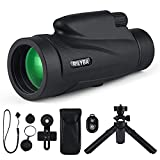Best Telescope For Camping - RILYBA 12X50 HD Monocular Telescope with Waterproof,with Wireless Review