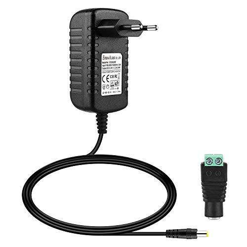 EFISH 12V 2A 24W Trafo liefern Netzteil,Netzstecker für Hausgeräte,CCTV Kamera,Yamaha Keyboard,Router,Hubs,LED-Streifen,Telekom,T-Com,Speedport,Radiowecker,Scanner,Schalter,Türklingel CE/GS Genehmigt