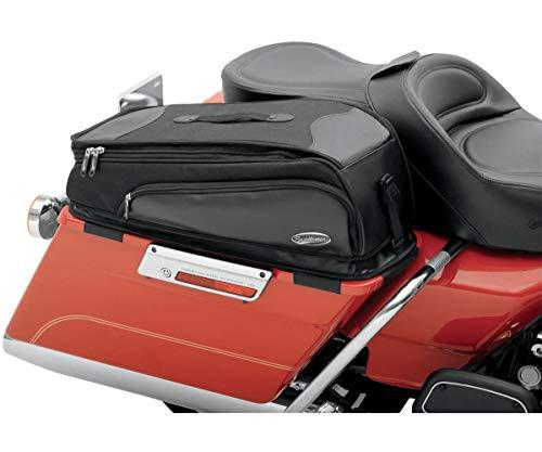 Saddlemen 3501-0454 Satteltasche mit Aufbewahrungsfach, schwarz