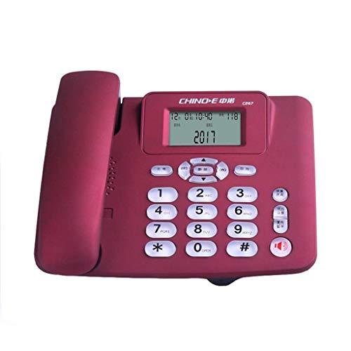 WBDZ Teléfono con Cable: teléfono Fijo, teléfono Fijo, número de teléfono Fijo / 200 * 150 * 50 mm