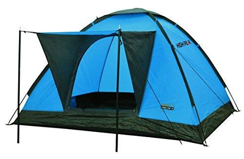 High Peak tent Beaver 3, blauw/donkergrijs, 10168