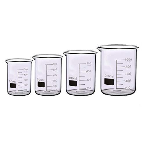 LBWT Verdickten Glasbecher, Laborglaswaren, Schule Chemical Experiment, Experiment Ausrüstung, hohe Temperaturbeständigkeit