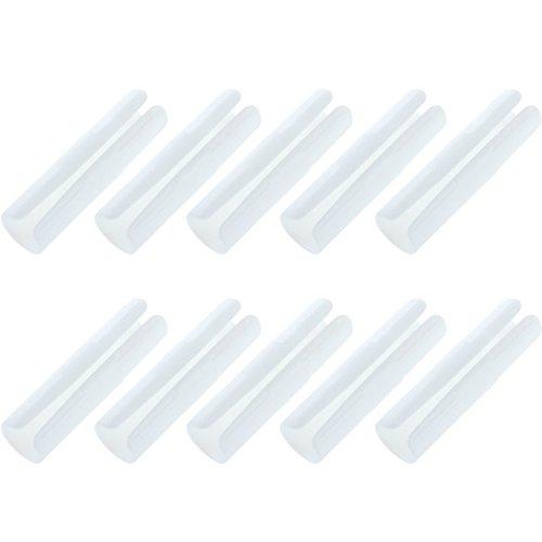Greenlans 10 Bed Sheet Befestigungsclip Greifer gurthalteband Wäscheklammern Überwurf Halterung, plastik
