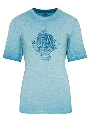 hajo Polo & Sportswear Herren T-Shirt Washer FLAMMENGARN
