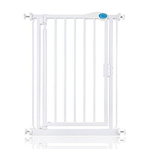 Bettacare Barrière d'escalier extra étroite (61 cm – 66,5 cm) – Fixation par pression.