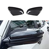 XHQ for 10th Gen Honda Civic Side Rearview Mirror Cover ABS Plastic Material Decoration fit Civic 2016-2021 Carbon Fibre Accessories(2PCS)