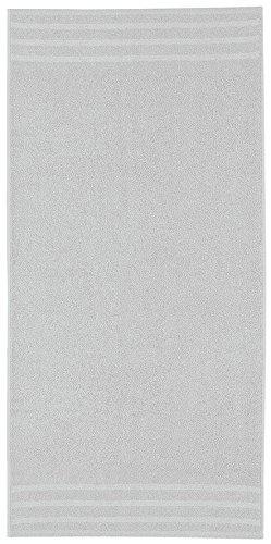 Kleine Wolke 3003104262 Handtuch Royal, 50 x 100 cm, Silbergrau