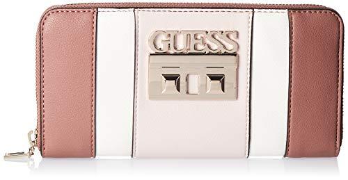 Guess Kamryn SLG Grote Zip Around portemonnee voor dames, 2 x 10 x 21 cm