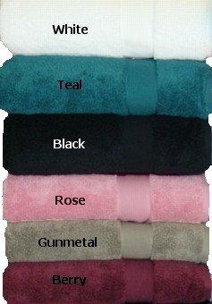 Espalma Signature Zero Twist Cotton Bath Towel - White