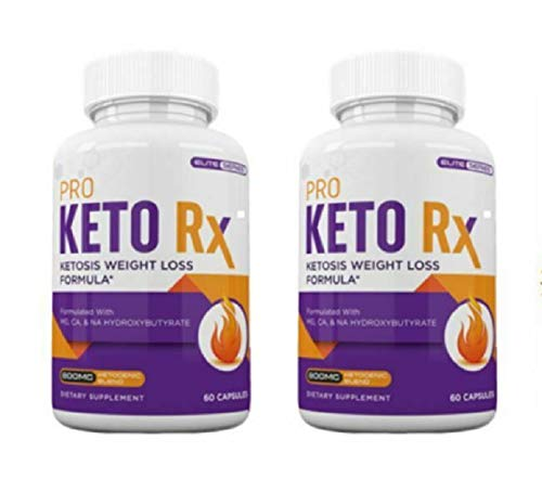 PRO Keto RX (120 Capsules) Weight Loss & Fat Burn Formula - 2 Months Supply